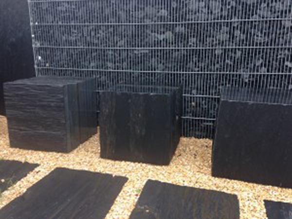 Schiefer Nordic Black Sitzblock U1